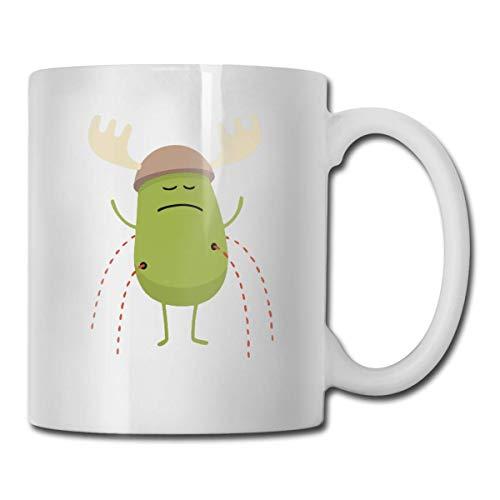 N\A Geek Dumb Ways to Die La Mejor Idea de Regalo, Divertida Taza de cerámica Blanca para café, Novedad, Taza de té