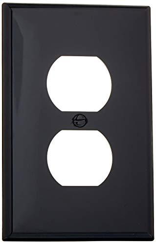 Leviton PJ8-E, 1 pack, Black