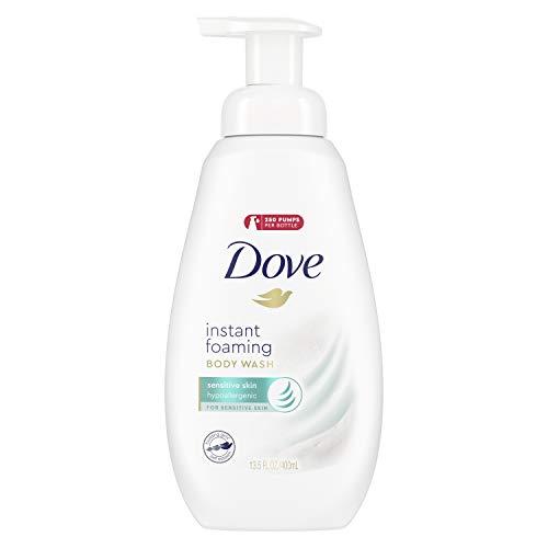Dove Shower Foam, Sensitive Skin, 13.5 oz