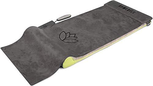 HoMedics Massage-Matte 2.0 - Stretchmatte / Yogamatte für Fitness und Entspannung, Dehnung der Muskulatur und mehr Beweglichkeit - Ganzkörpermassagegerätmit 6 Programmen - Hilft bei Schmerzen