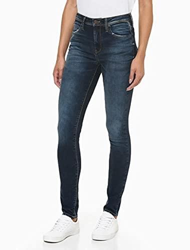 Calça jeans Skinny high, Calvin Klein, Feminino, Azul claro, 38