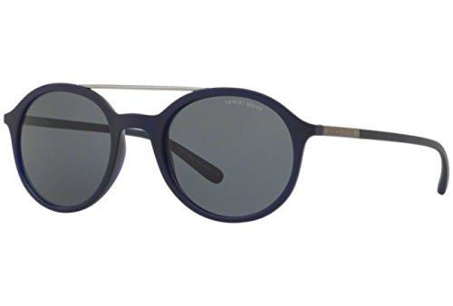 Armani 0AR8077 0AR8077 Rund Sonnenbrille 5, Schwarz