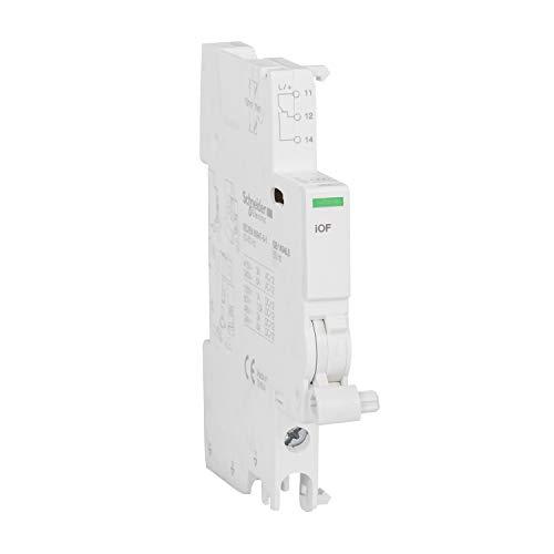 Preisvergleich Produktbild Schneider Electric A9 A26924 IOF Kontakt AUX,  acti9,  240 415 VCA,  24 130 VCC,  50 / 60 Hz,  weiß