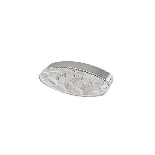 TUN'R feu AR Universel a LEDs Ovale Transparent (9 LEDs)