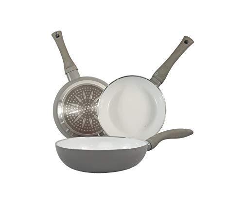Sarten Ceramica Induccion – 18 cm Mango Ergonomico – Aluminio
