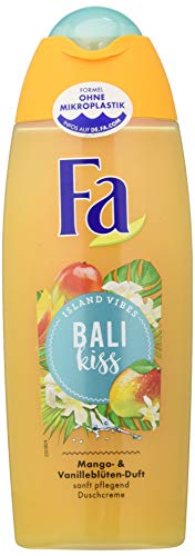 FA Duschcreme Island Vibes Bali Kiss mit Mango- & Vanillenblüten-Duft, 6er Pack (6 x 250 ml)
