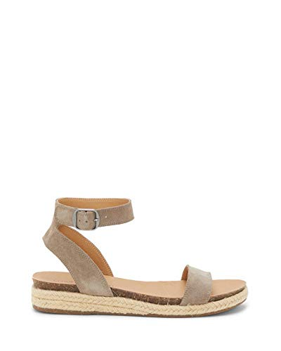 Price comparison product image Lucky Brand Women's GARSTON Flat Sandal,  Brindle,  6 M US