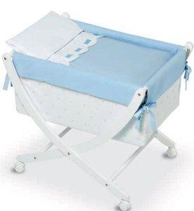 Bimbi Class – Bébé, 68 x 83 x 76 cm, blanc et bleu