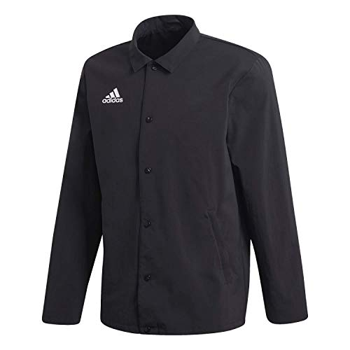 adidas Herren Tan Coach Jacket Jacke, Black, XL