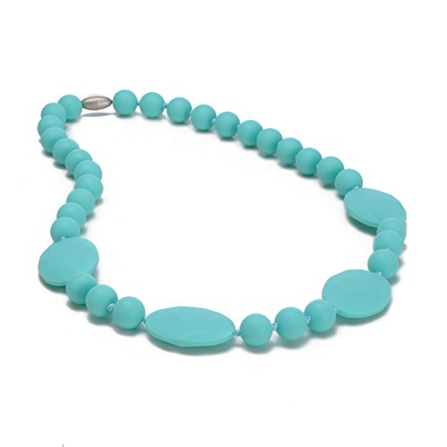 Chewbeads Necklace - Perry -Turquoise