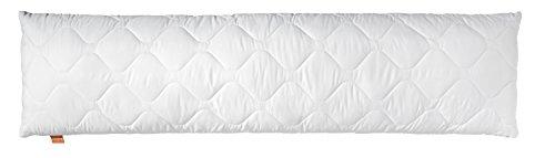 sleepling 195857 Basic 100 Kopfkissen Mikrofaser 40 x 105 cm, weiß