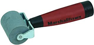 MARSHALLTOWN The Premier Line E54D 2-Inch Flat Commercial Grade Solid Rubber Seam Roller with DuraSoft Handle