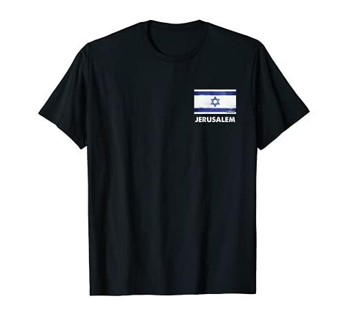 Jerusalem Israel Fahnenhemd | Jerusalem T-Shirt