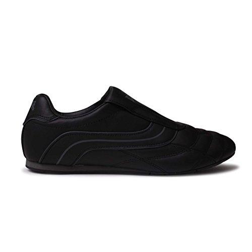 Lonsdale Benn - Scarpe da ginnastica senza lacci, stile casual, da uomo, per corsa e altri sport, nero (Black/black), 8.5 UK