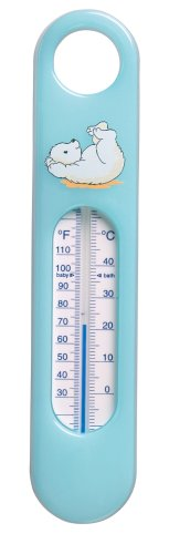 be-jou 622157 badthermometer Pompon turquoise
