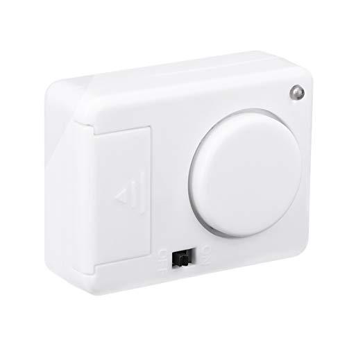 Angoily Detector de Vibración con Sensor de Seguridad para Puerta Y Ventana para Prevenir Robos