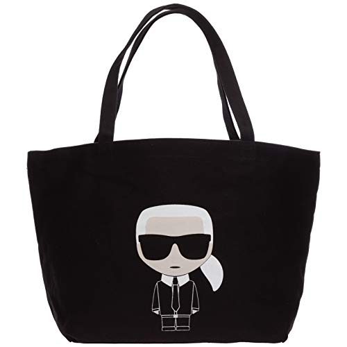 Karl Lagerfeld damen k/ikonik Schultertasche nero