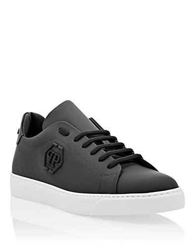 Philipp Plein Masculino Rubber Leather Lo-Top Sneakers The Plein Original TM