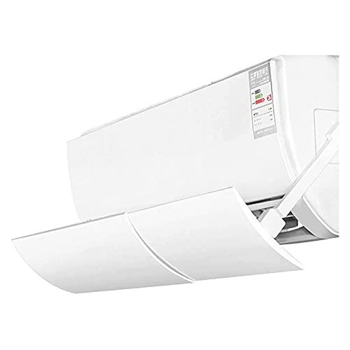 Deflettore del condizionatore d'aria retrattile, coperchio del deviatore dell'aria del deflettore dell'aria condizionata universale, la guida del vento del condizionatore d'aria regolabile