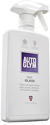 Autoglym Fast Glass 500ml - Spray Nettoyant pour Vitres de Voiture, Rétroviseurs, Phares et...