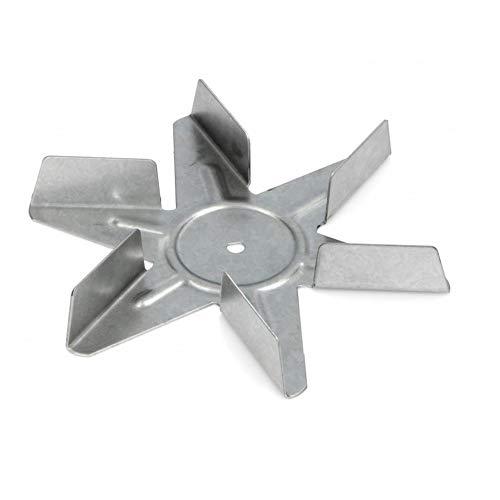 Ventola Motore Forno Ventilato Universale In Alluminio. 6 Pale, Ø150mm. Altezza: 20mm.