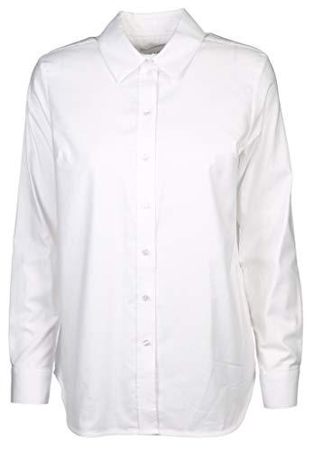 Milano Italy Damen Bluse Größe 46 EU Weiß (weiß)