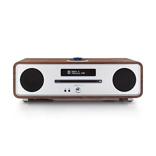 Ruarkaudio R4 MKIII Soundsystem UKW/DAB+/CD/Bluetooth, Walnuss