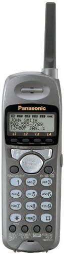 Panasonic KXTGA400B 2.4GHz Accessory Handset for KXTG4000B Expandable Phone (Black) (KX-TGA400B)