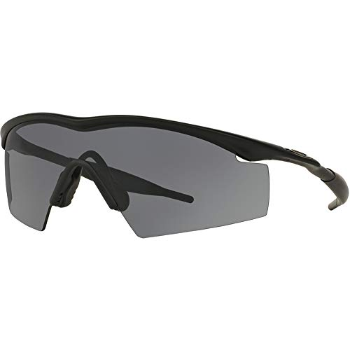 Oakley M Frame Industrial Men's Sport Designer Sunglasses/Eyewear - Black/Grey/One Size Fits All