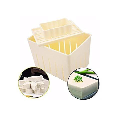 Mangocore 3Pcs Plastic Tofu Press Mould DIY Homemade Tofu Maker Pressing Mold Kit + Cheese Cloth Kitchen Tool tofu mold