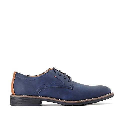 Zapatos Casual Hombre con Punta Redonda Cordones