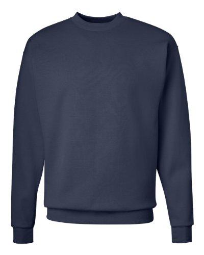 Hanes Men's Ecosmart Sweatshirt, Navy, 2XL