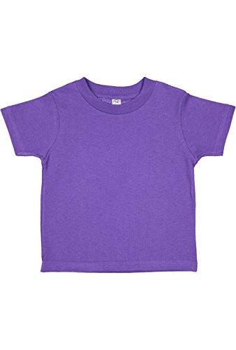 RABBIT SKINS 3321 - Fine Jersey Toddler T-Shirt, Purple, 2T