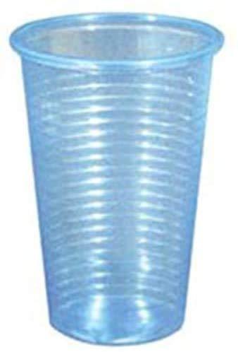 Unidades 500Vaso CC 230de plástico transparente azul para dispensadores de agua alto...
