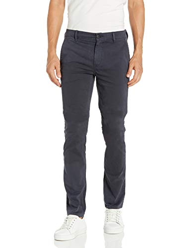 BOSS Orange Herren Stretch Chino Pant Unterhose, dunkelblau, 30W / 34L