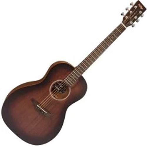 Vintage Paul Brett Signature Statesboro' Acoustic Parlour Guitar Mahogany -...