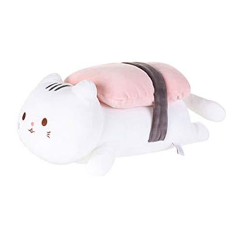 MINISO Sushi Cat Plush Toy - Salmon Stuffed Animal Doll