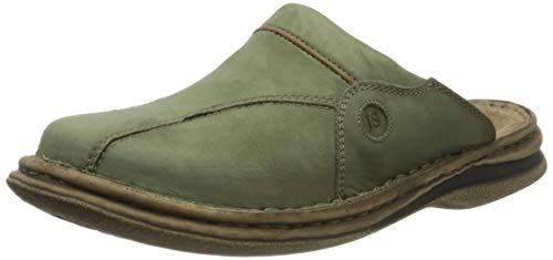 Josef Seibel Klaus Heren Clogs | Echt lederen herenschoenen voor binnen en buiten | comfortabele schoenen van rundleer