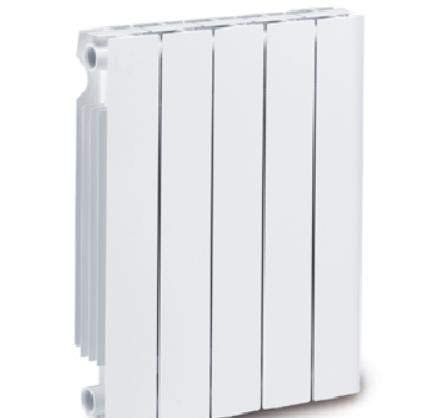 Mithos Elemento radiador Aluminio Trento 500mm Blanco Precio por Elemento