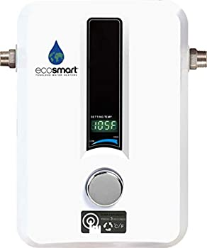EcoSmart ECO 11 Electric Tankless Water Heater 13KW at 240 Volts with Patented Self Modulating Technology