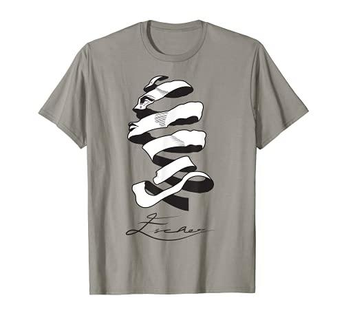 MC Escher Like T Shirt Design Di Donna Maglietta
