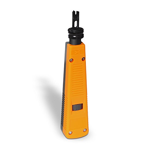 AISENS A142-0316 - Insertadora Tipo 110 para Montaje, Color armarillo