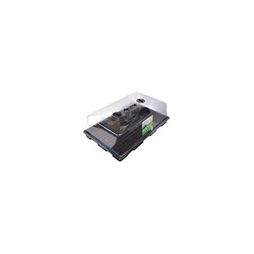 FLORATECK - Serre PVC souple - 57x36.5x23 cm - ROOT!T