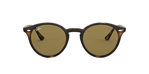 Ray-Ban Unisex RB2180 Sonnenbrille, Braun (Gestell: havana, Gläser: dunkel braun 710/73), Medium (Herstellergröße: 51)