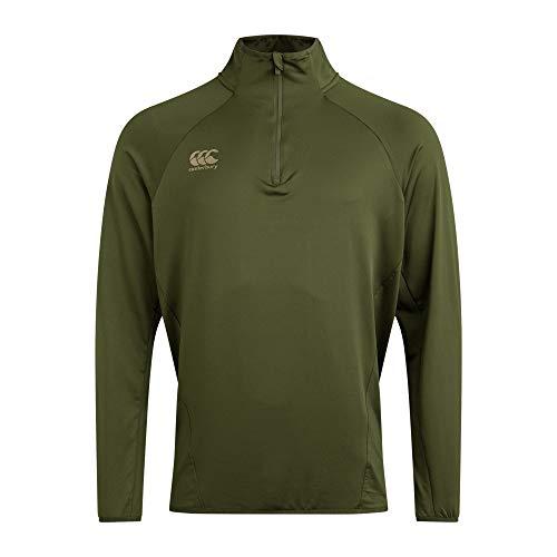 Canterbury Elite First Layer Camiseta, Hombre, Rifle Verde, 4XL
