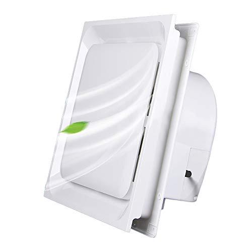 Extractor de techo, 30 * 30 extractor de baño cocina extractor, Ventilador silencioso ultrafino potente de gran potencia y bajo nivel de ruido Apto para salón, dormitorio, baño, cocina ZDDAB.