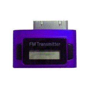 Exeze - Pico 5 Transmetteur FM pour iPhone, iPod Nano, iPod Touch, iPod Classic - Ultra-compat - Pas de Cable ou de Batterie nécessaire - Pourpre