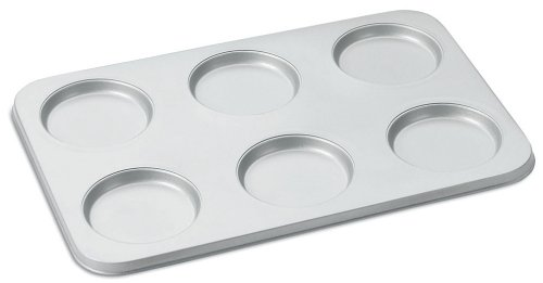 Cuisinart Chef's Classic Nonstick 6-Cup Muffin-Top Pan, Silver