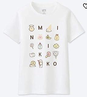 ユニクロ すみっコぐらし Tシャツ UT 160 オンライン限定サイズ 白 UNIQLO S~Mサイズの女性の方も