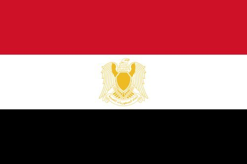 magFlags Flagge: Large Syria 1972 | Querformat Fahne | 1.35m² | 80x160cm » Fahne 100% Made in Germany